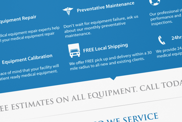 B&K Biomedical Services - Sales Sheet